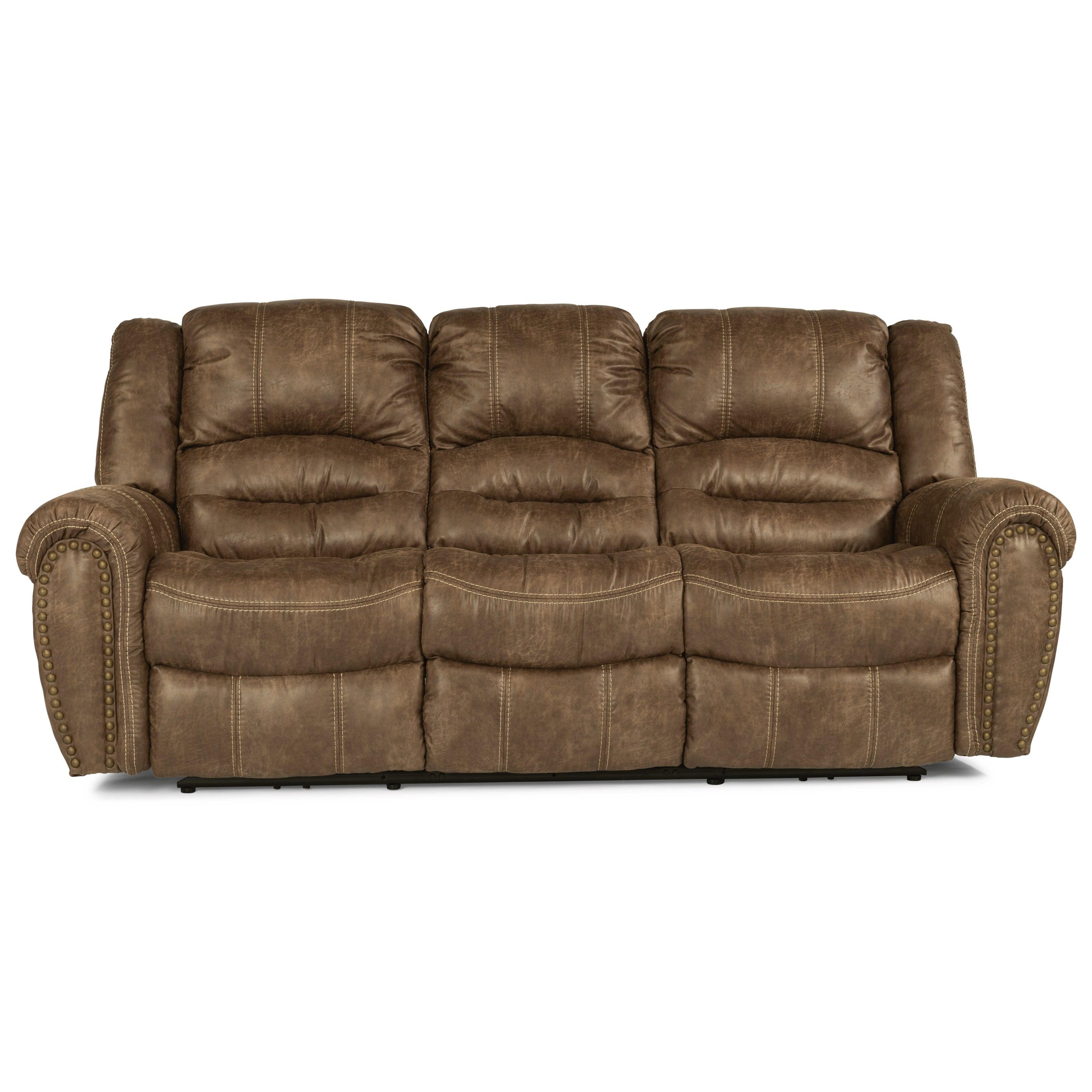 Latitudes - Town Power Reclining Sofa by Flexsteel at Turk Furniture