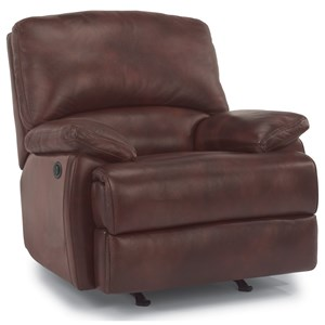 Leather Wall Power Recliner
