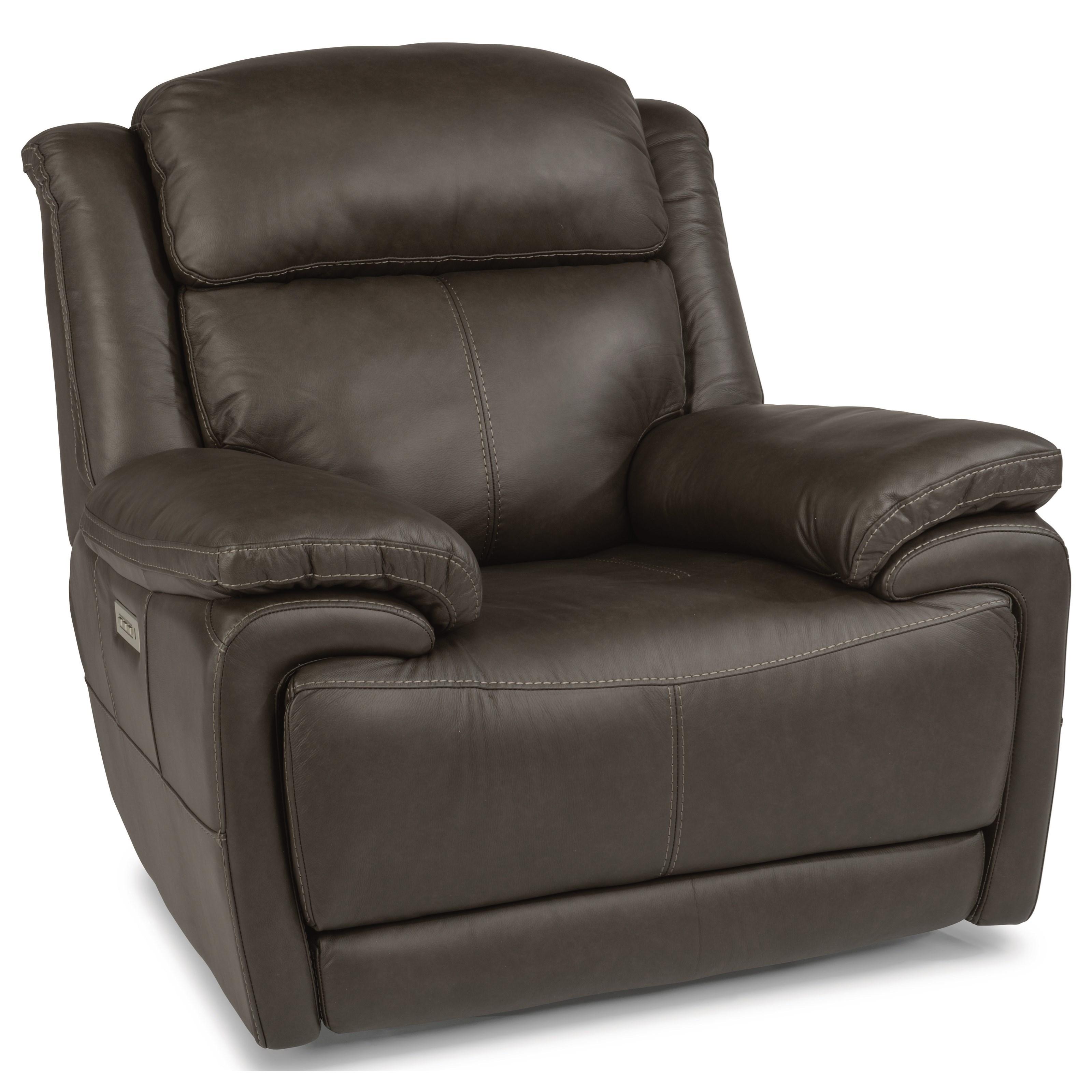 Latitudes - Elijah Power Recliner with Power Headrest by Flexsteel at Walker's Furniture