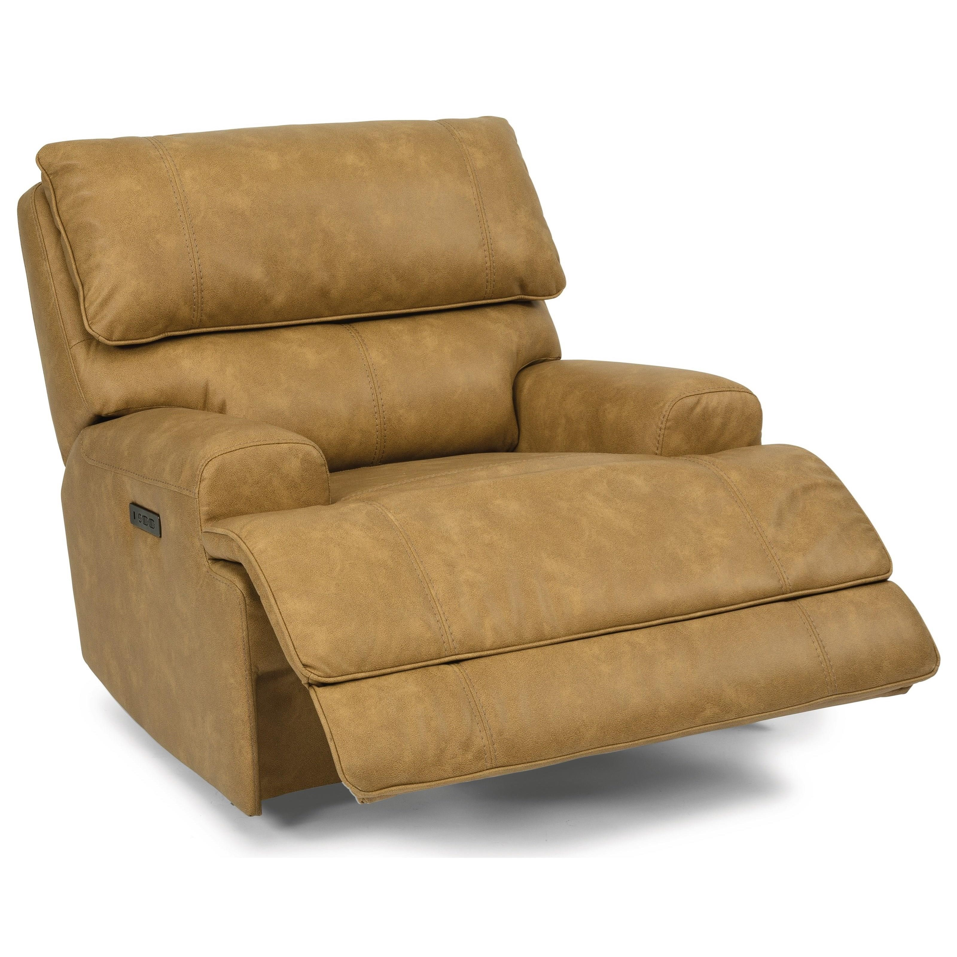 Latitudes - Floyd Power Recliner by Flexsteel at Steger's Furniture