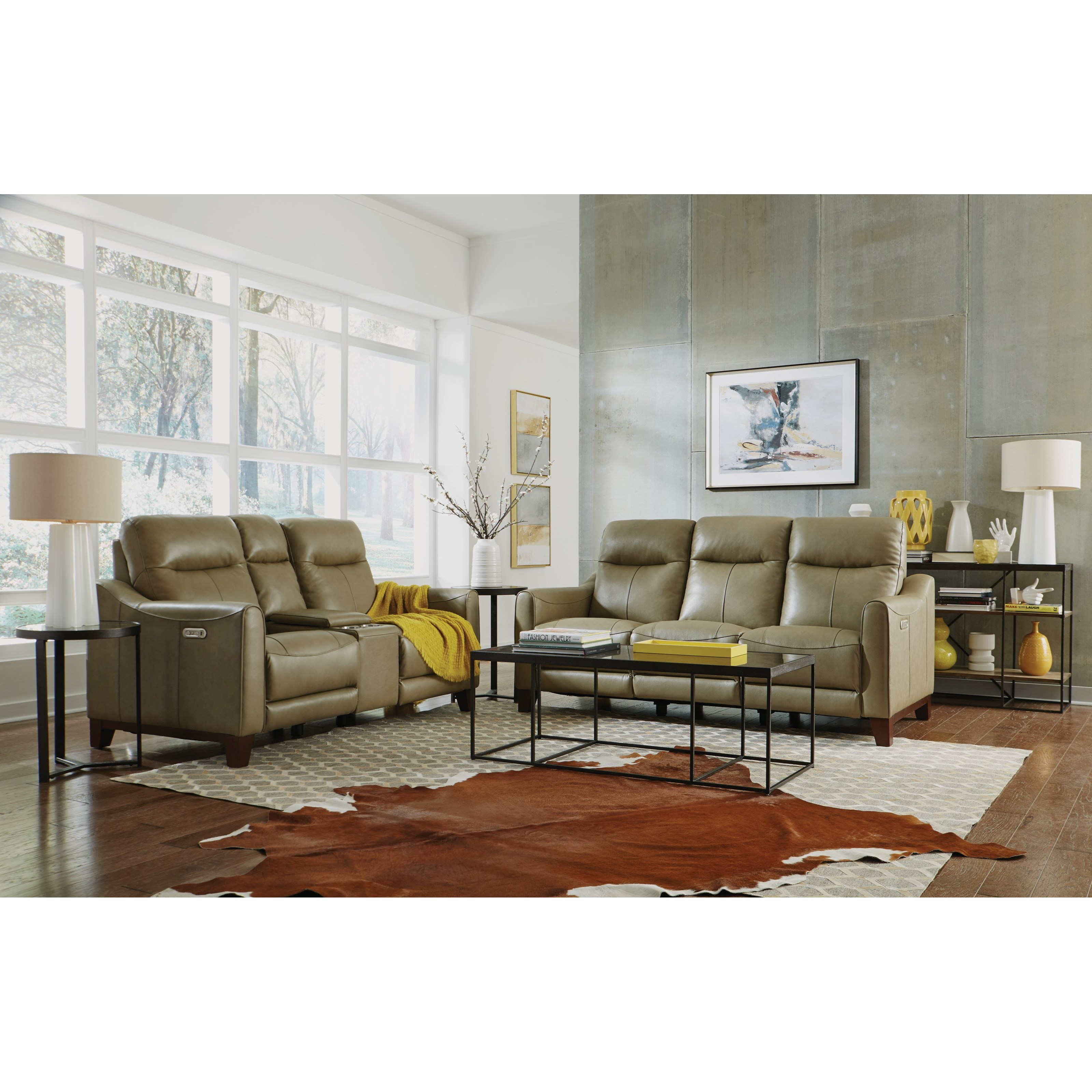 Latitudes - Forte Power Reclining Living Room Group by Flexsteel at Home Collections Furniture
