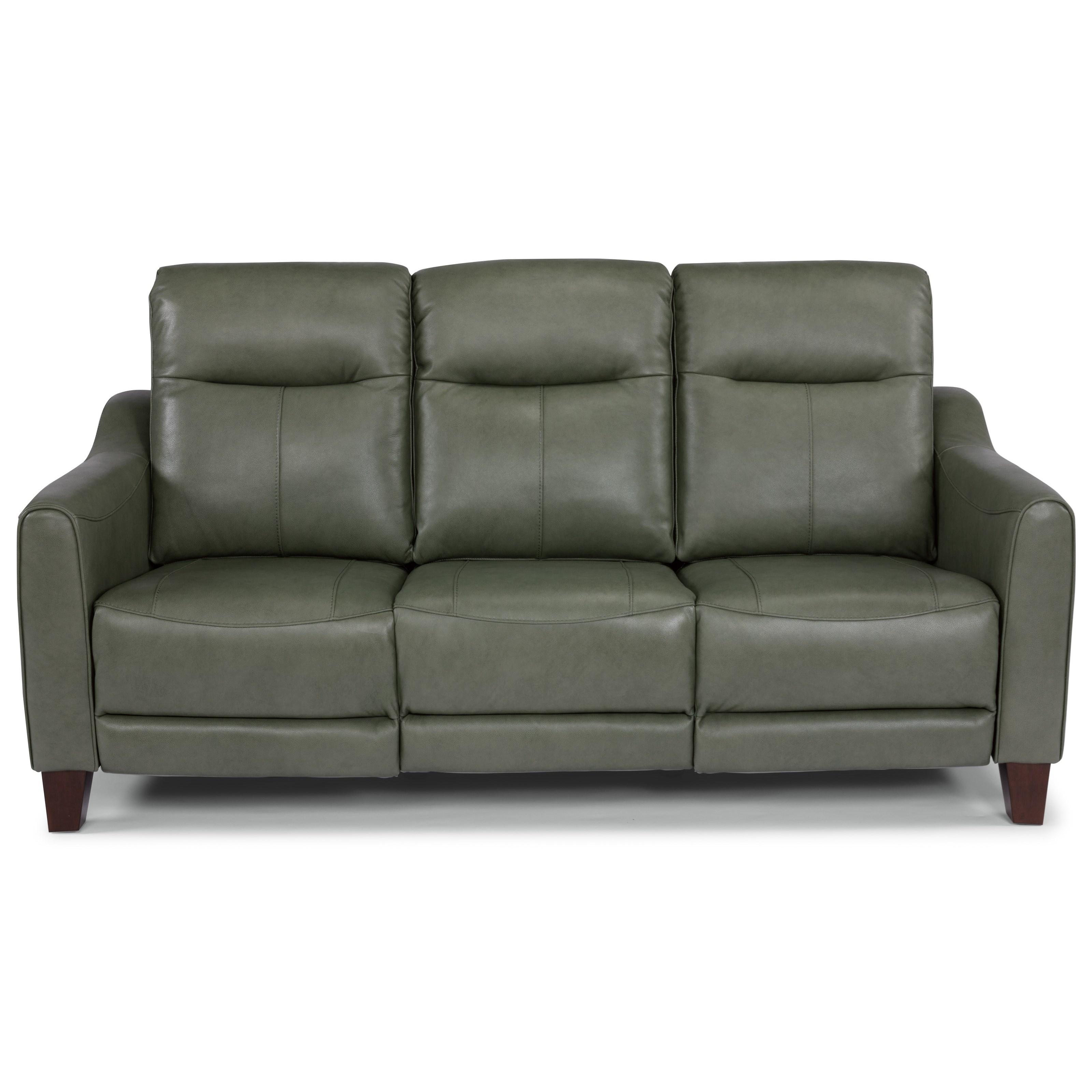 Latitudes - Forte Power Reclining Sofa by Flexsteel at Walker's Furniture