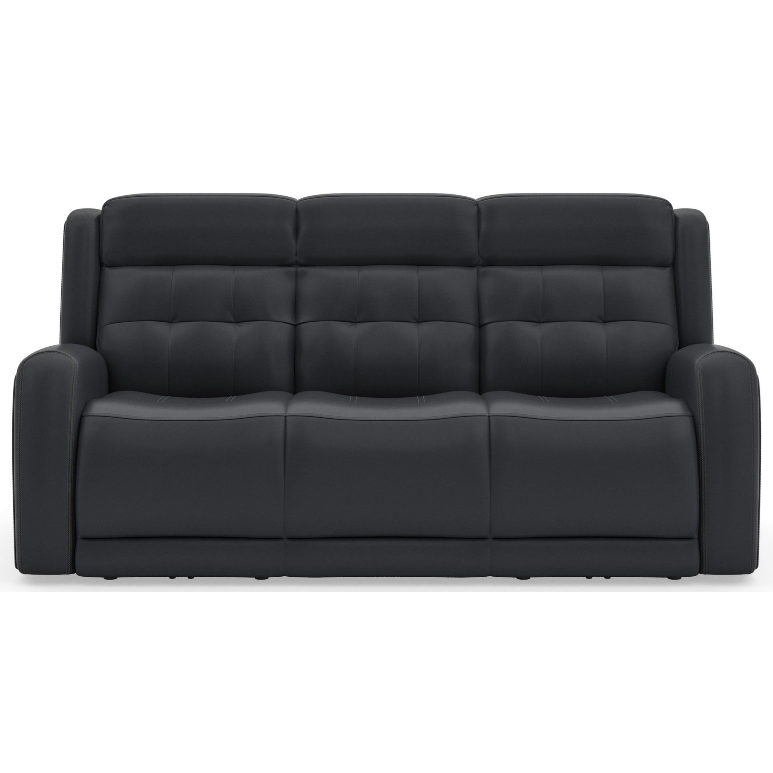 Latitudes - Grant Power Reclining Sofa by Flexsteel at Walker's Furniture