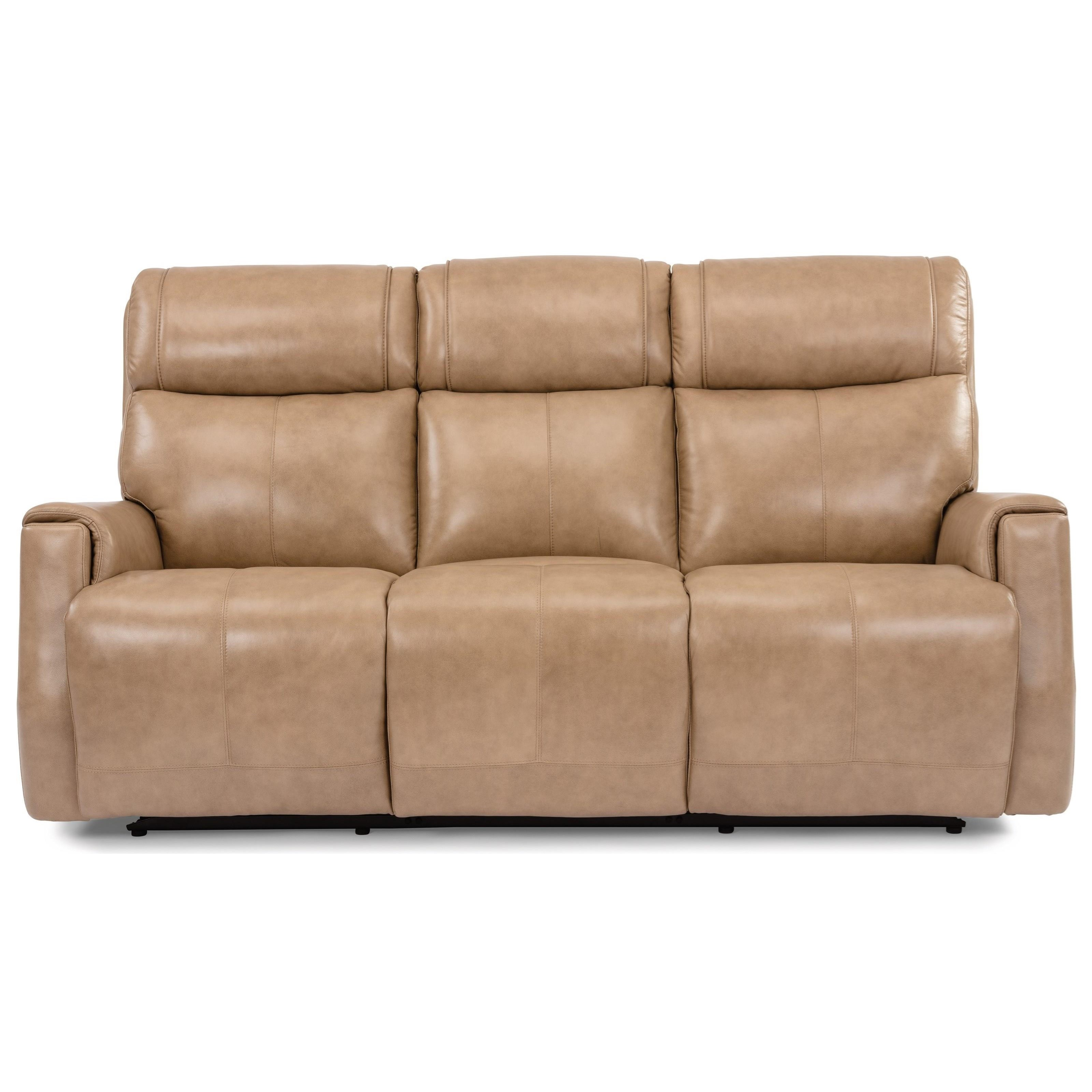 Latitudes - Holton Power Reclining Sofa by Flexsteel at Zak's Home