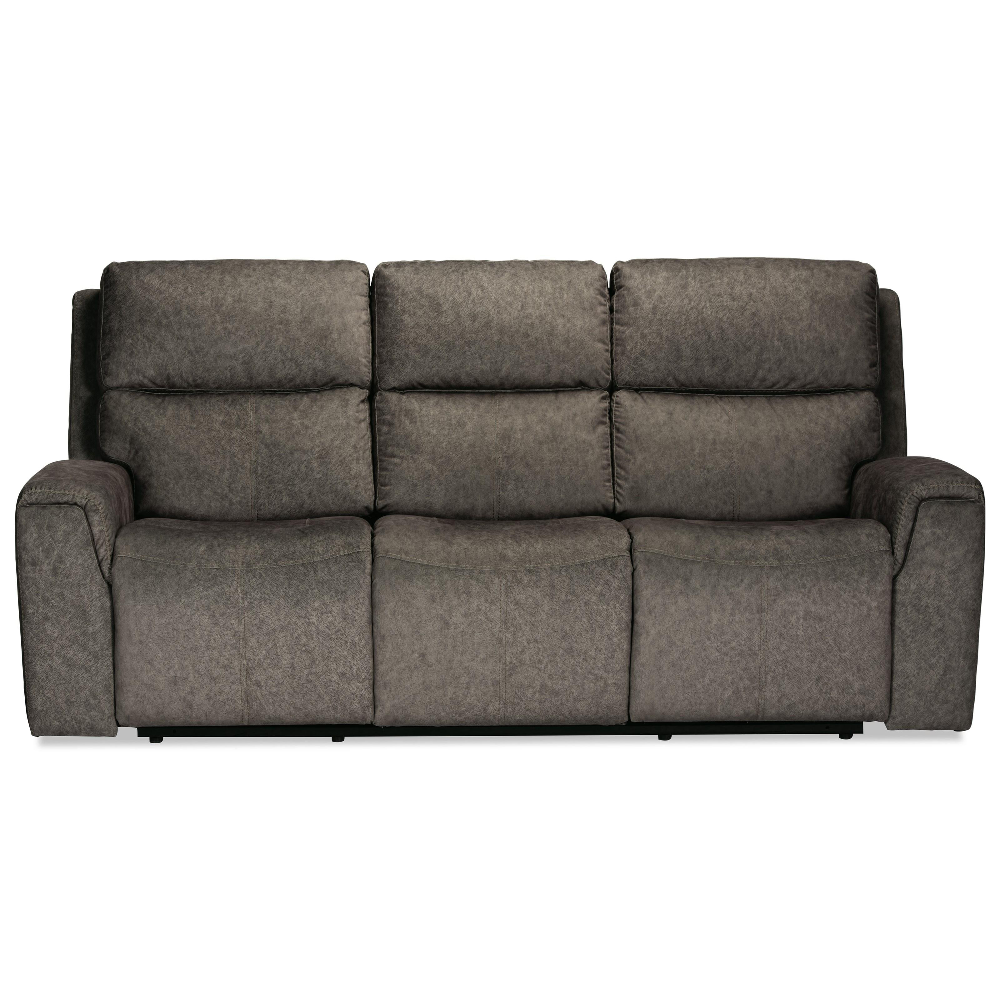 Latitudes - Jarvis Power Reclining Sofa by Flexsteel at Walker's Furniture