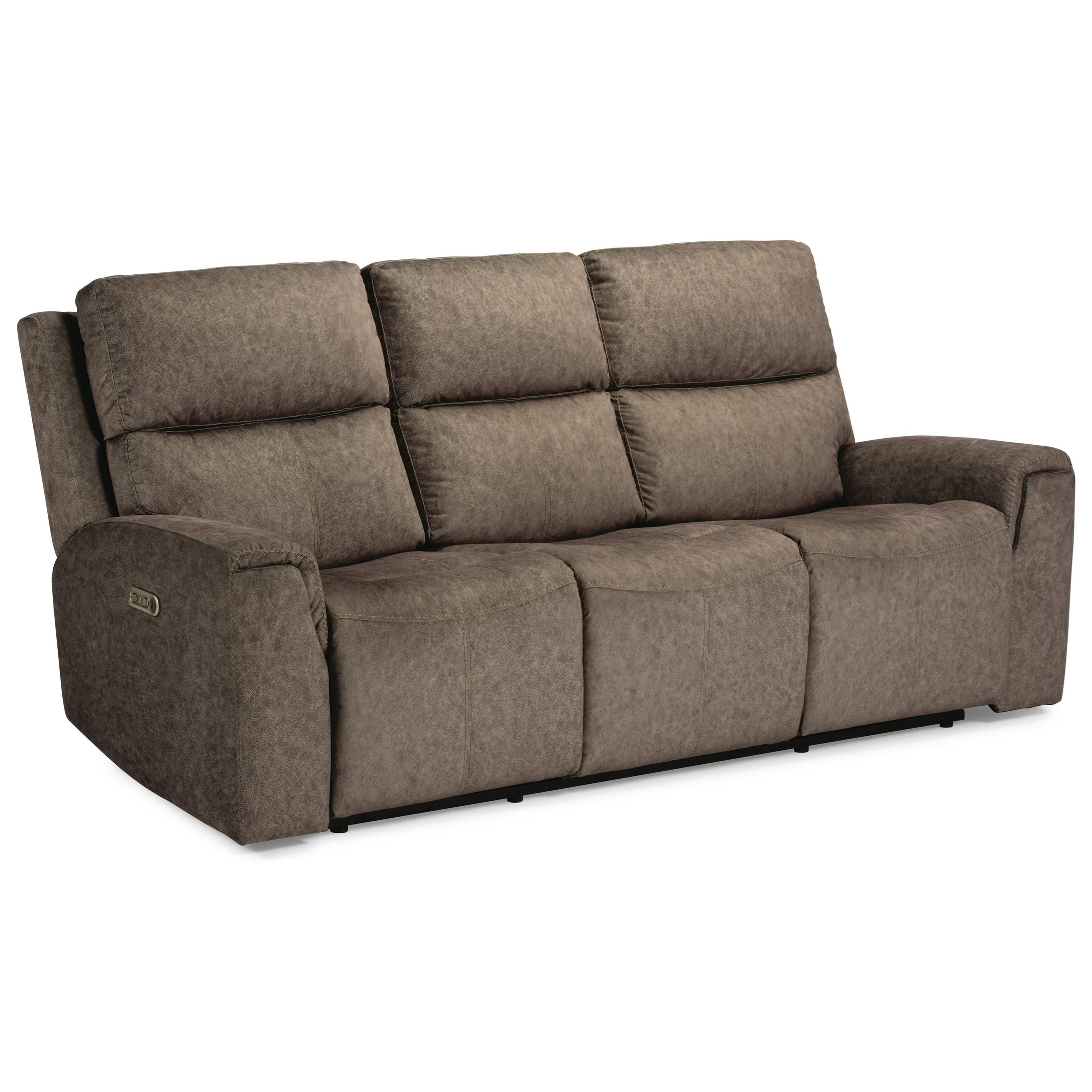 Latitudes - Jarvis Power Reclining Sofa by Flexsteel at Walker's Furniture