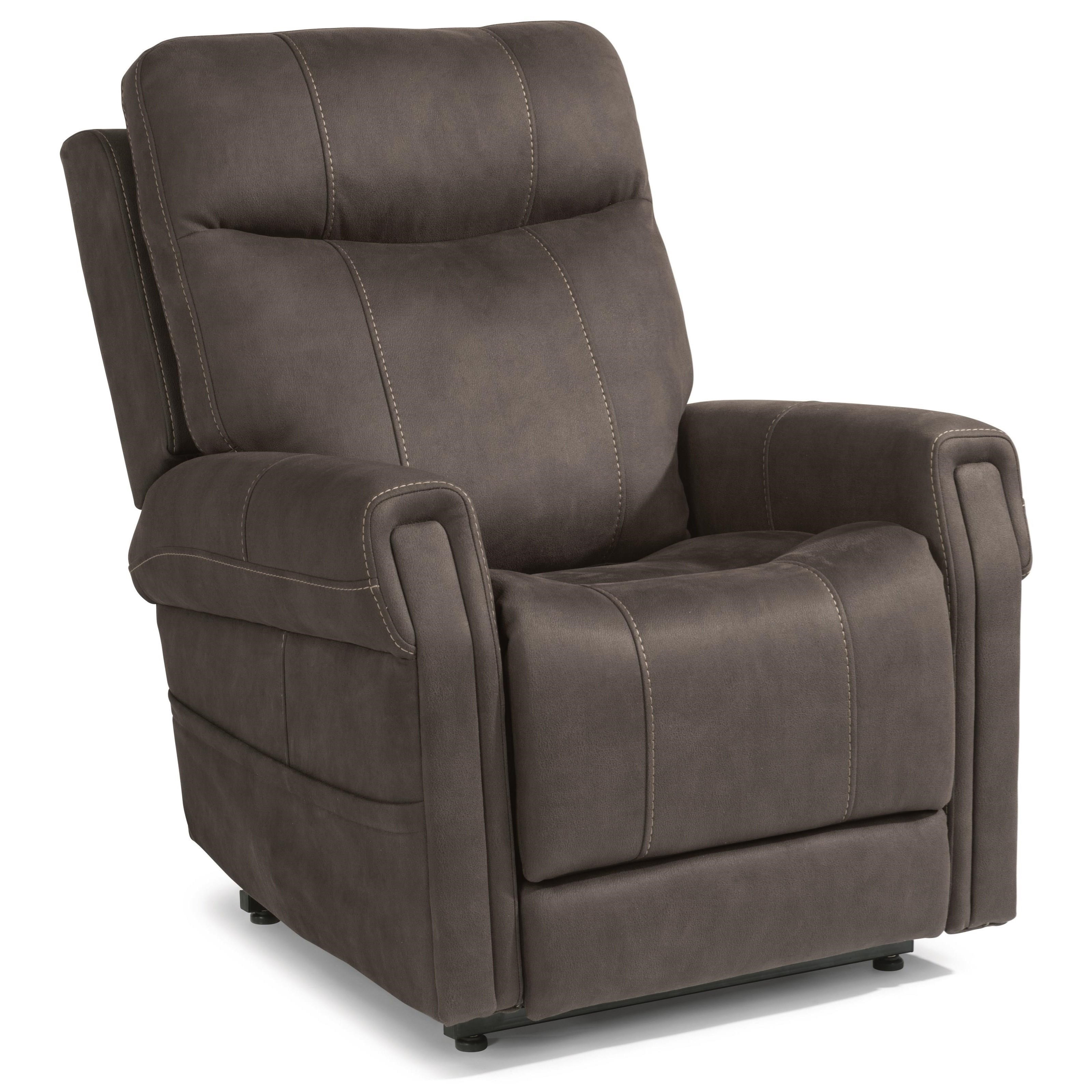 Latitudes - Jenkins Power Lift Recliner with Right-Hand Control by Flexsteel at Zak's Home