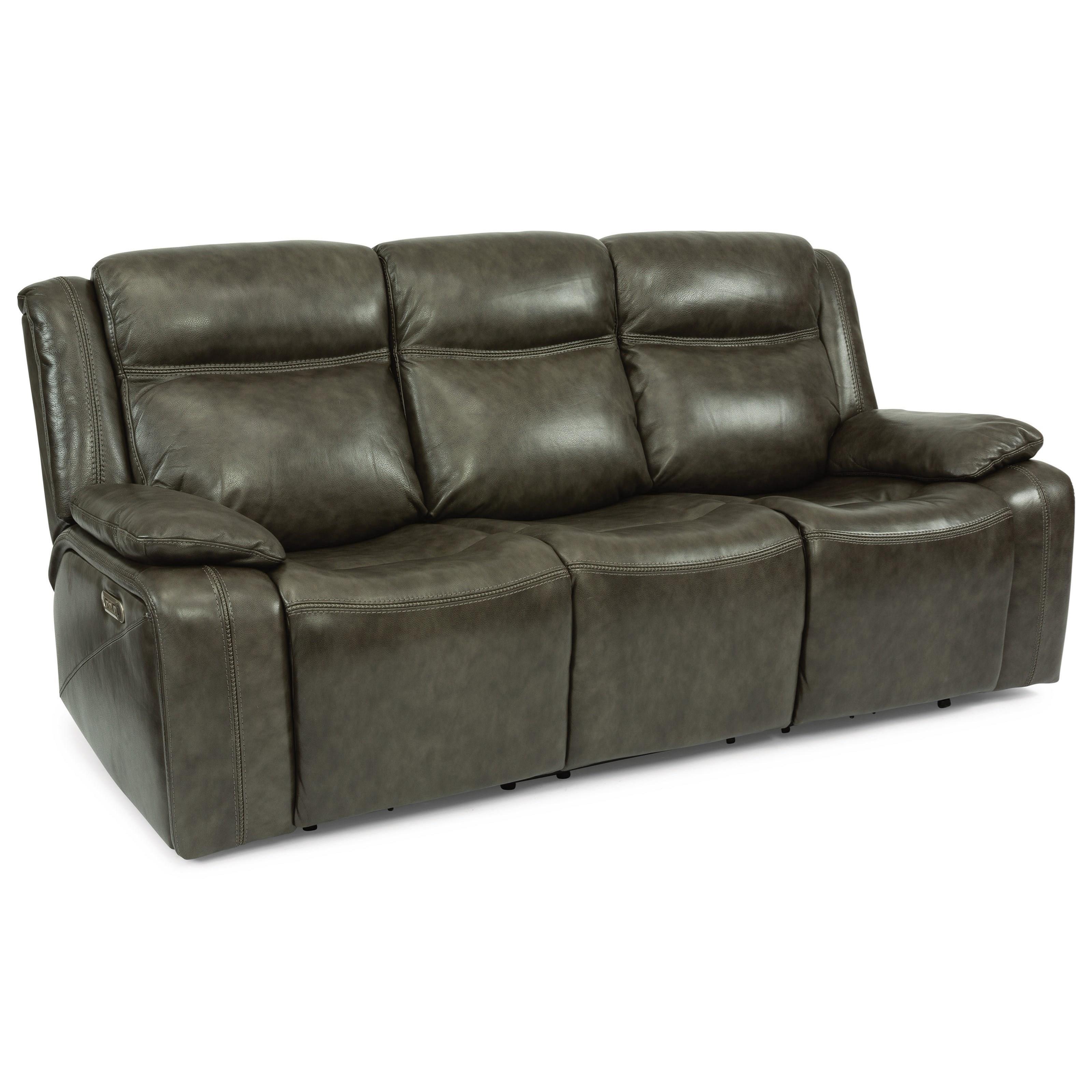 Latitudes - Journey Power Reclining Sofa by Flexsteel at Walker's Furniture