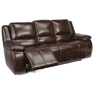 Casual Power Recling Sofa with Power Headrest