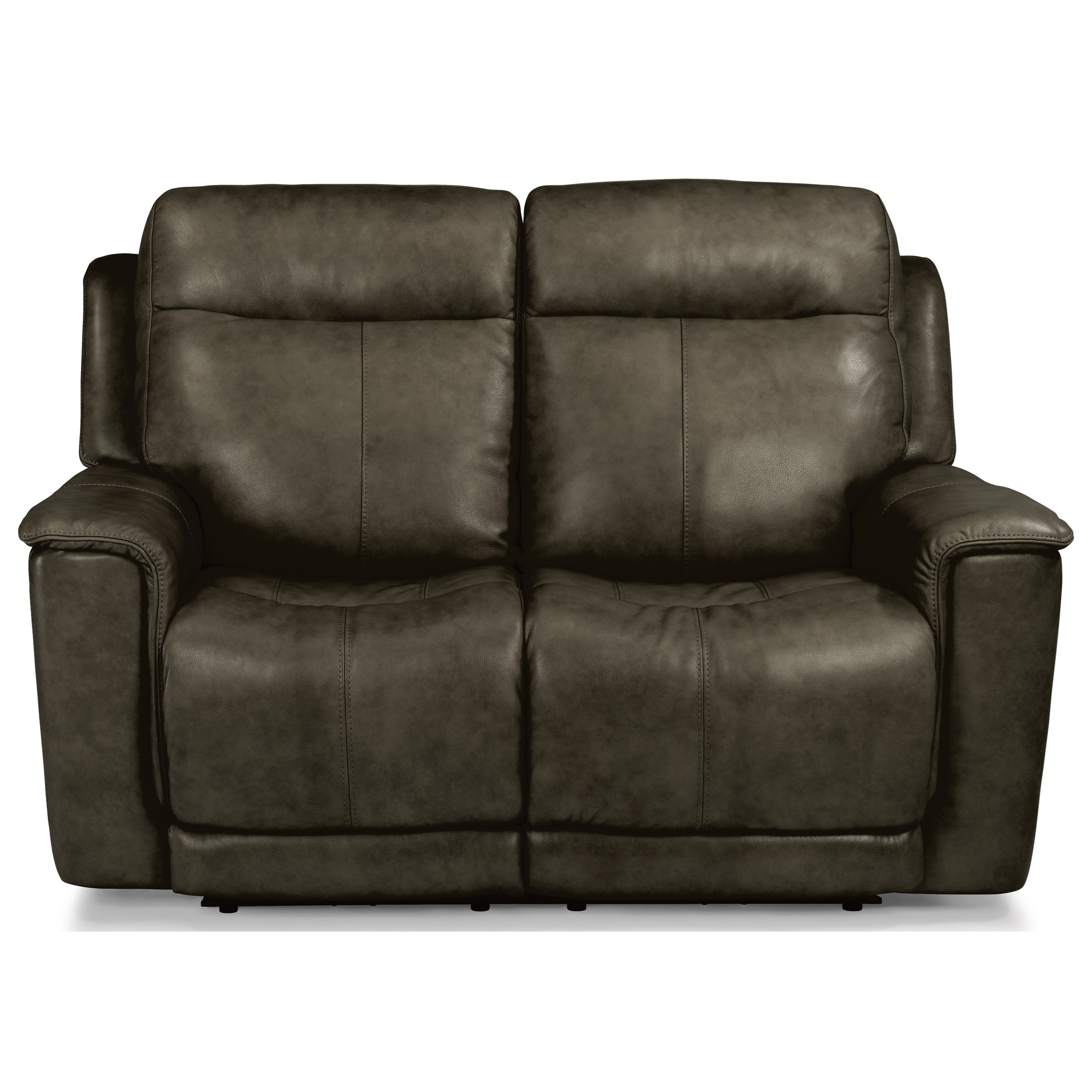 Latitudes - Miller Power Reclining Love Seat by Flexsteel at Walker's Furniture