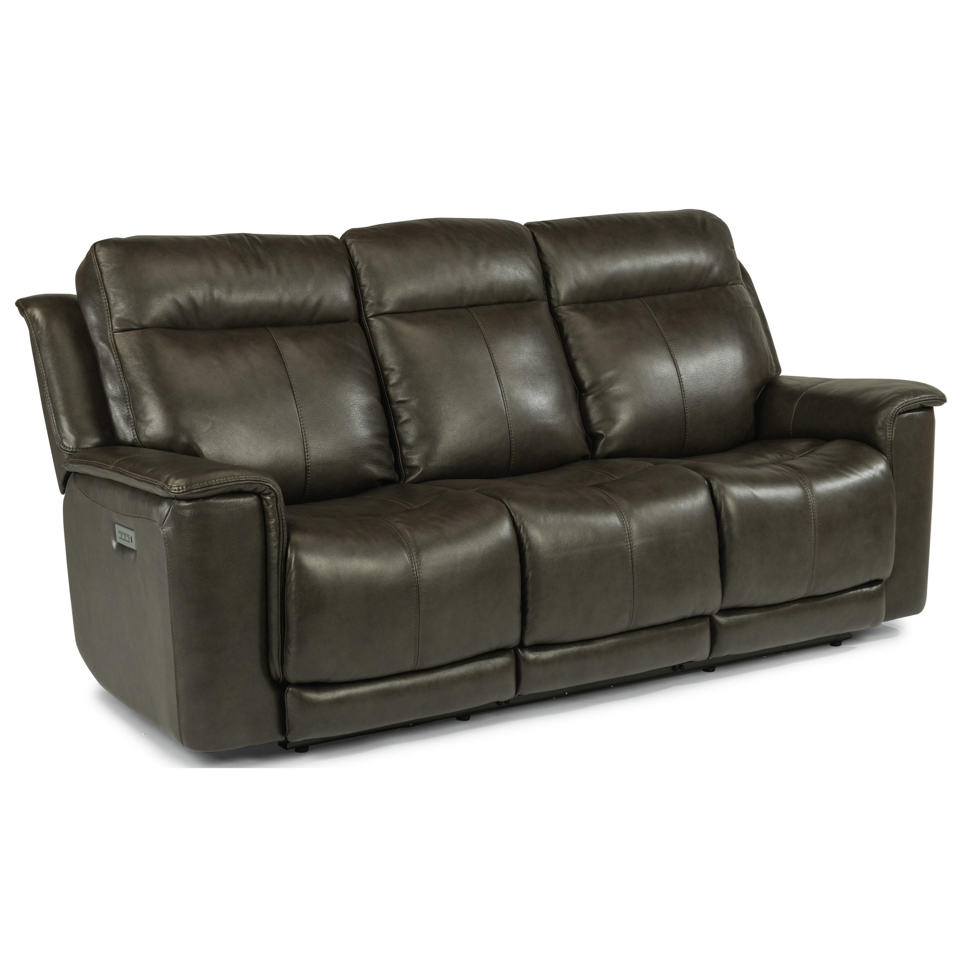 Latitudes - Miller Power Reclining Sofa by Flexsteel at Darvin Furniture