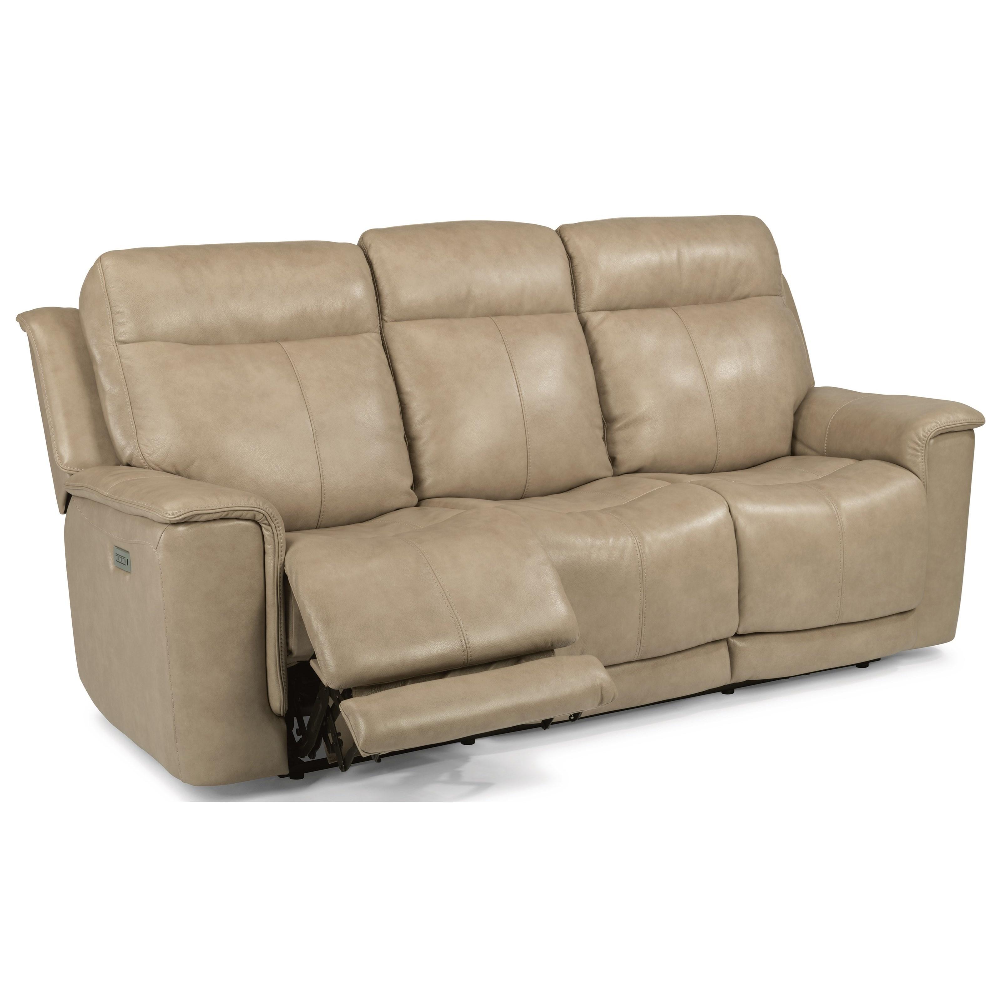 Latitudes - Miller Power Reclining Sofa by Flexsteel at Belfort Furniture