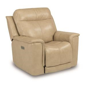 Power Recliner with Power Headrest and Adjustable Lumbar