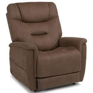 Power Lift Recliner with Right-Hand Control Panel and USB Port