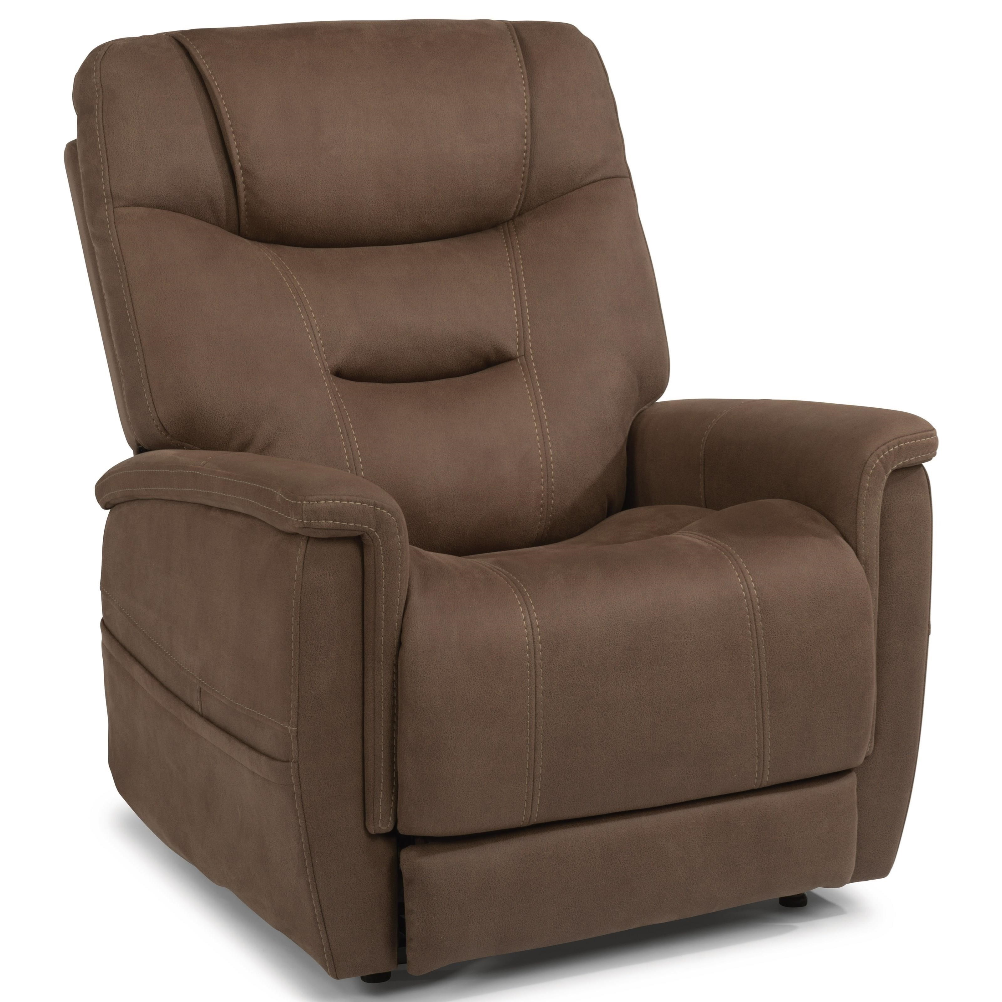 Latitudes - Shaw Power Lift Recliner by Flexsteel at Walker's Furniture