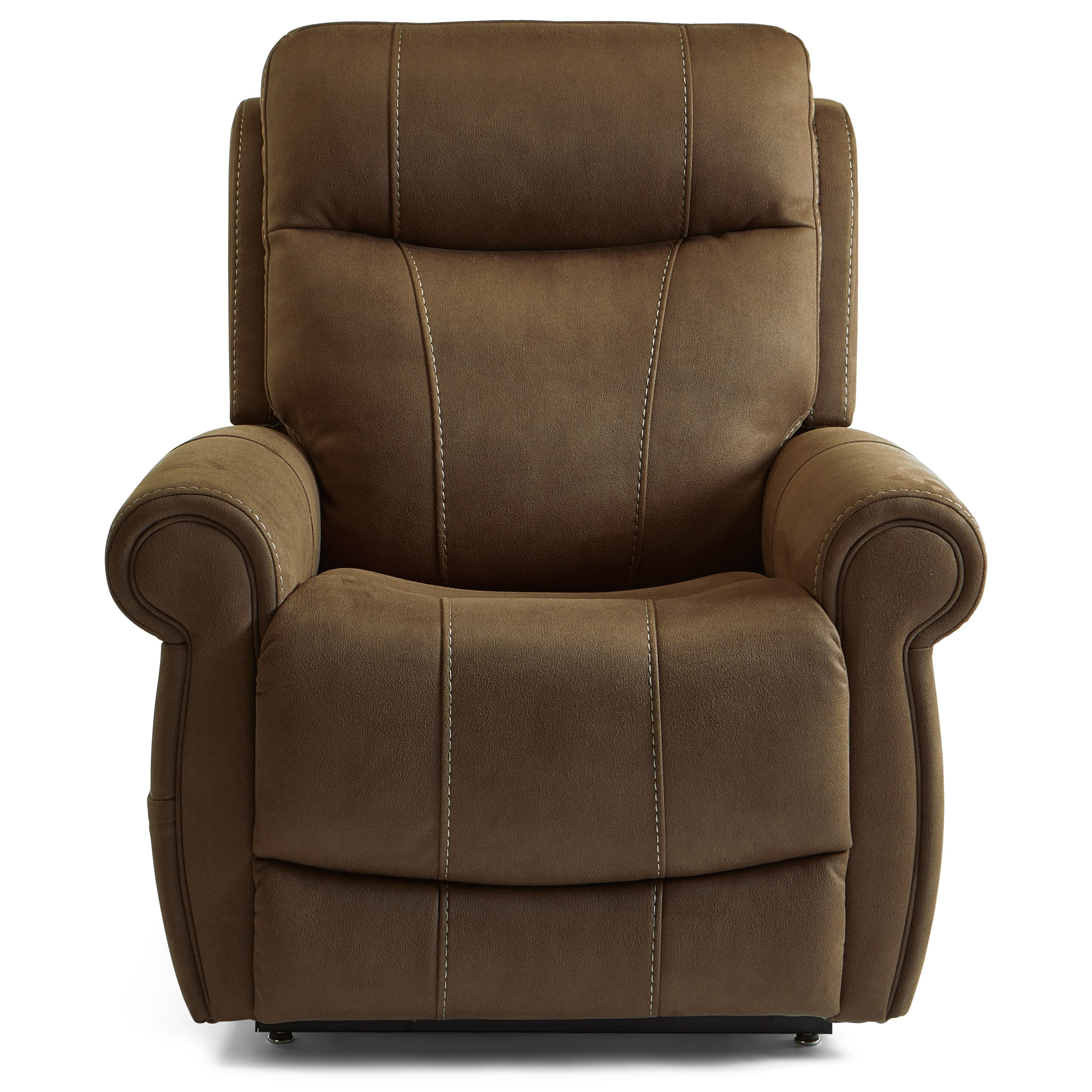 Latitudes - Stewart Power Lift Recliner w/ Pwr Hdrst & Pwr Lumb by Flexsteel at Walker's Furniture