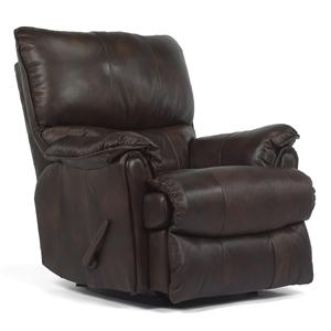Recliner w/ Power and Large Bustle Back