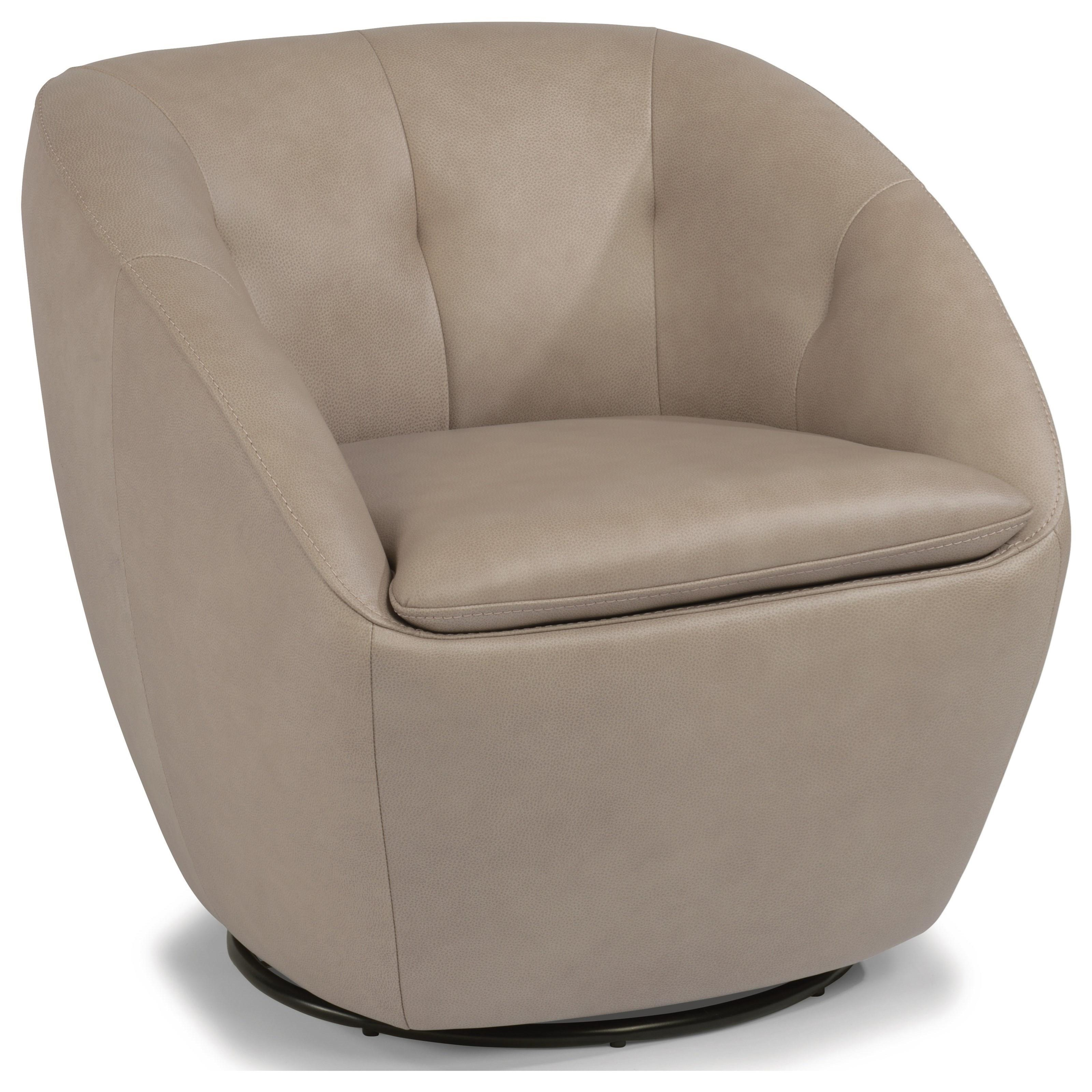 Latitudes - Wade Swivel Chair  by Flexsteel at Darvin Furniture