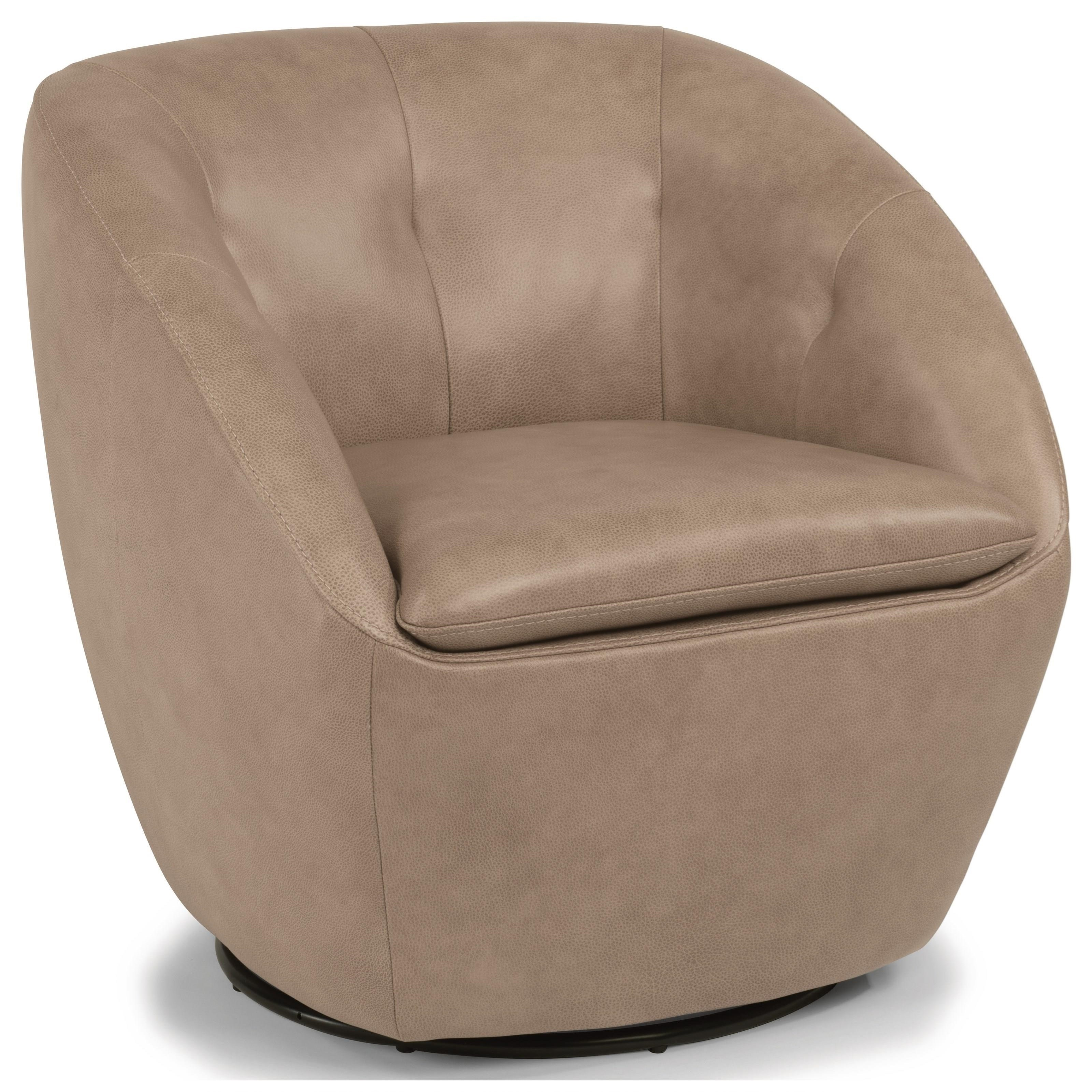 Latitudes - Wade Swivel Chair  by Flexsteel at Walker's Furniture