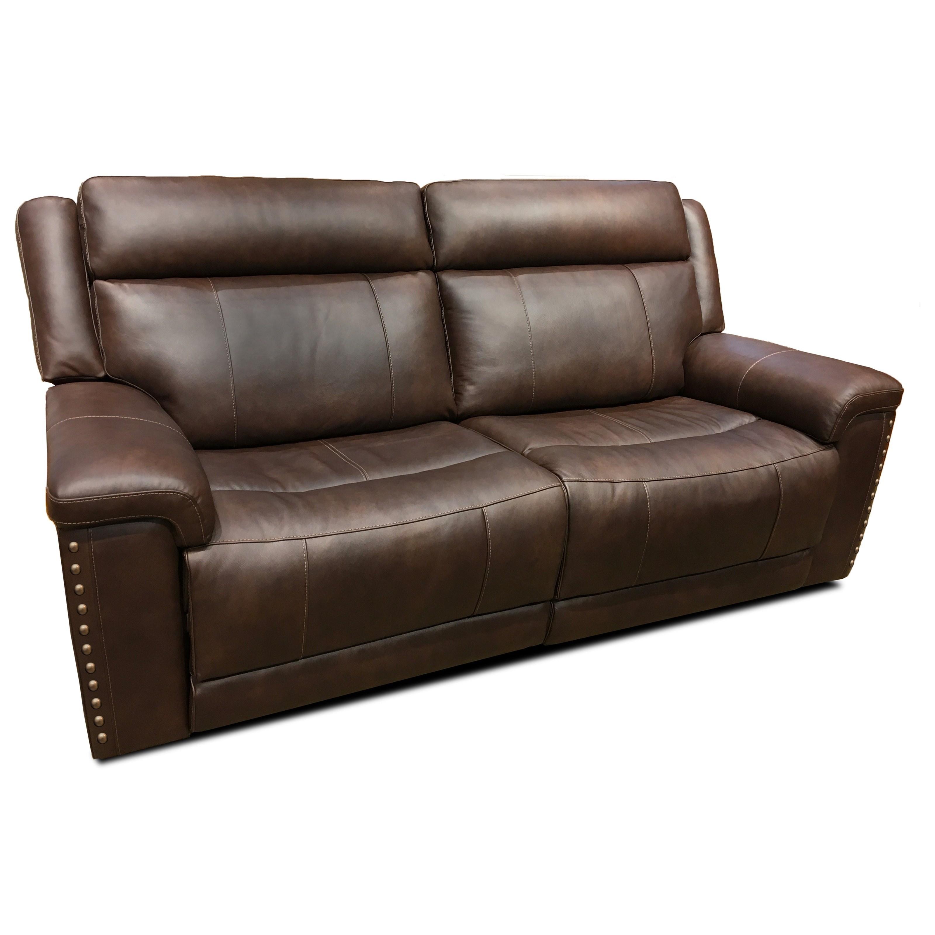 Latitudes - Yuma Pwr Rcl Sofa w/ Pwr Hdrst by Flexsteel at Walker's Furniture