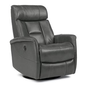 Hart Queen-Size Power Swivel Glider Recliner