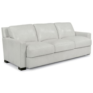 Contemporary Sofa with Nailhead Trim Detail