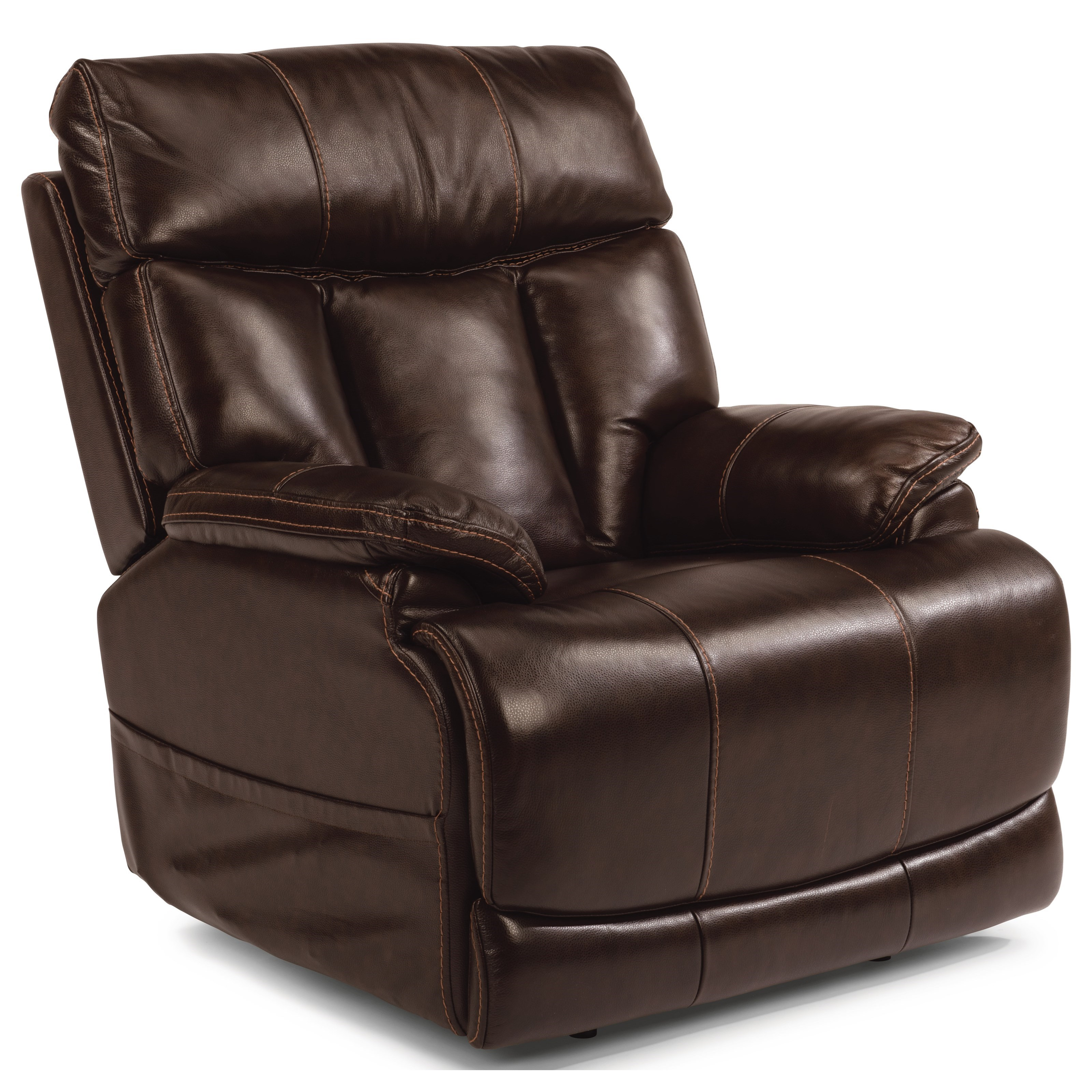 Latitudes-Clive Power Recliner with Power Headrest by Flexsteel at Walker's Furniture