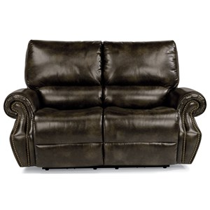 Flexsteel Latitudes-Colton Pwr Rcl Loveseat w/ Pwr Headrest