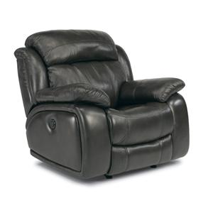 Power Glider Recliner with Power Headrest