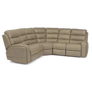 Flexsteel Latitudes-Elliot 4 Pc Pwr Reclining Sectional