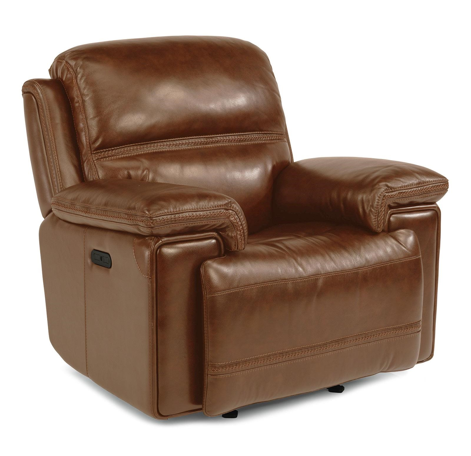 Power Glider Recliner with Power Tilt Headrest and USB Port