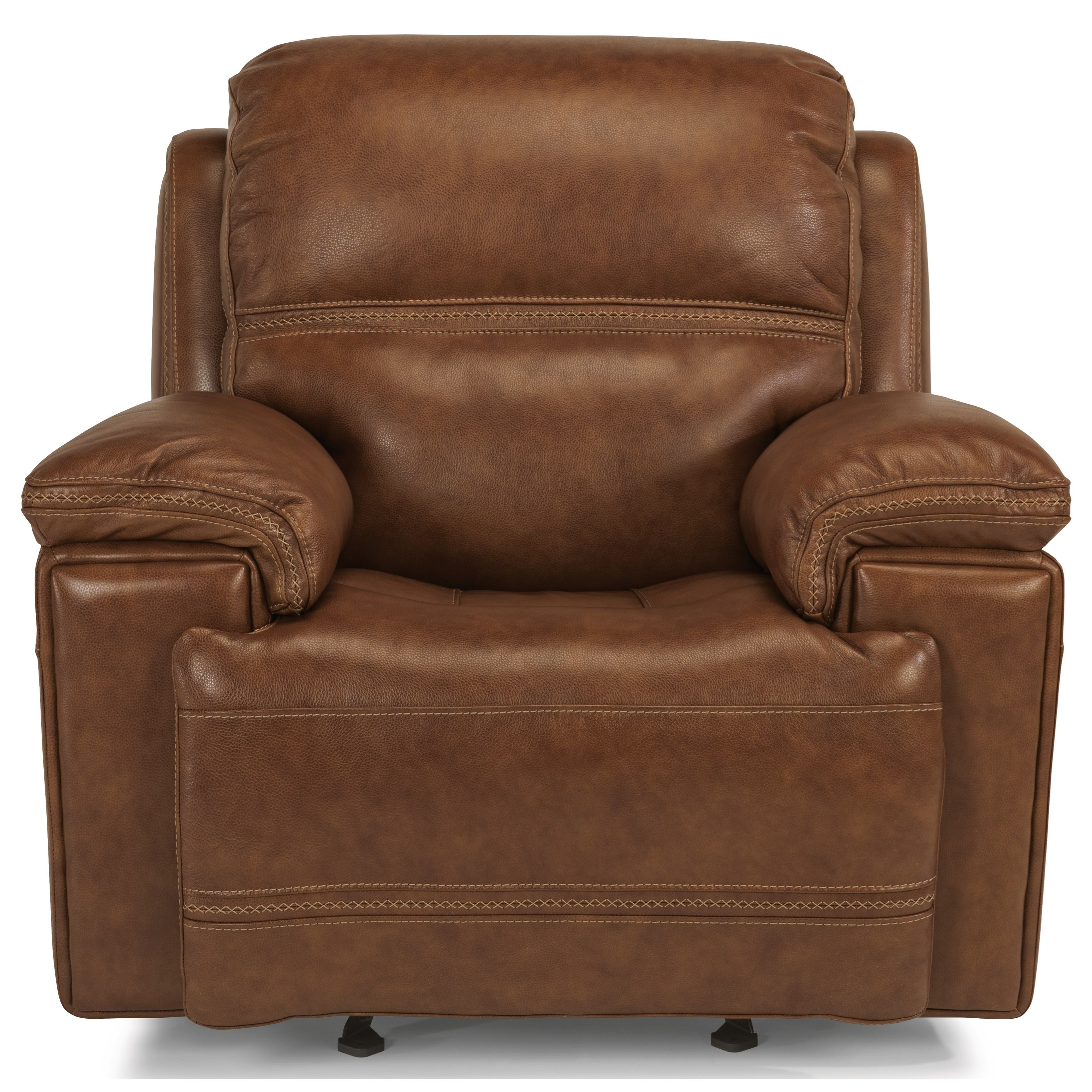 Pwr Leather Recliner w/ Pwr Headrest