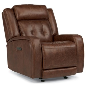 Flexsteel Latitudes-Jude Power Gliding Recliner