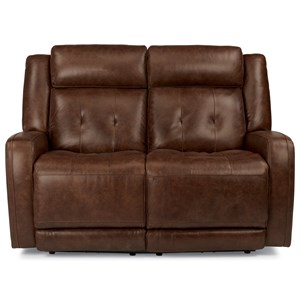 Flexsteel Latitudes-Jude Power Reclining Love Seat