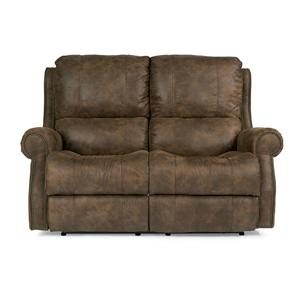 Flexsteel Latitudes-Miles Reclining Loveseat