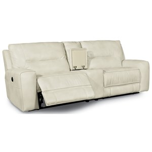 Flexsteel Latitudes-Molino Power Reclining Small Sectional with Console
