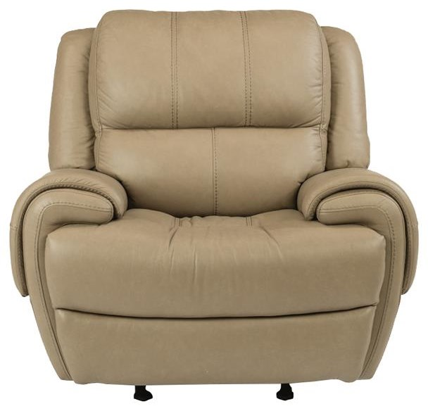 Latitudes-Nance Power Gliding Recliner with Power Headrest by Flexsteel at Williams & Kay
