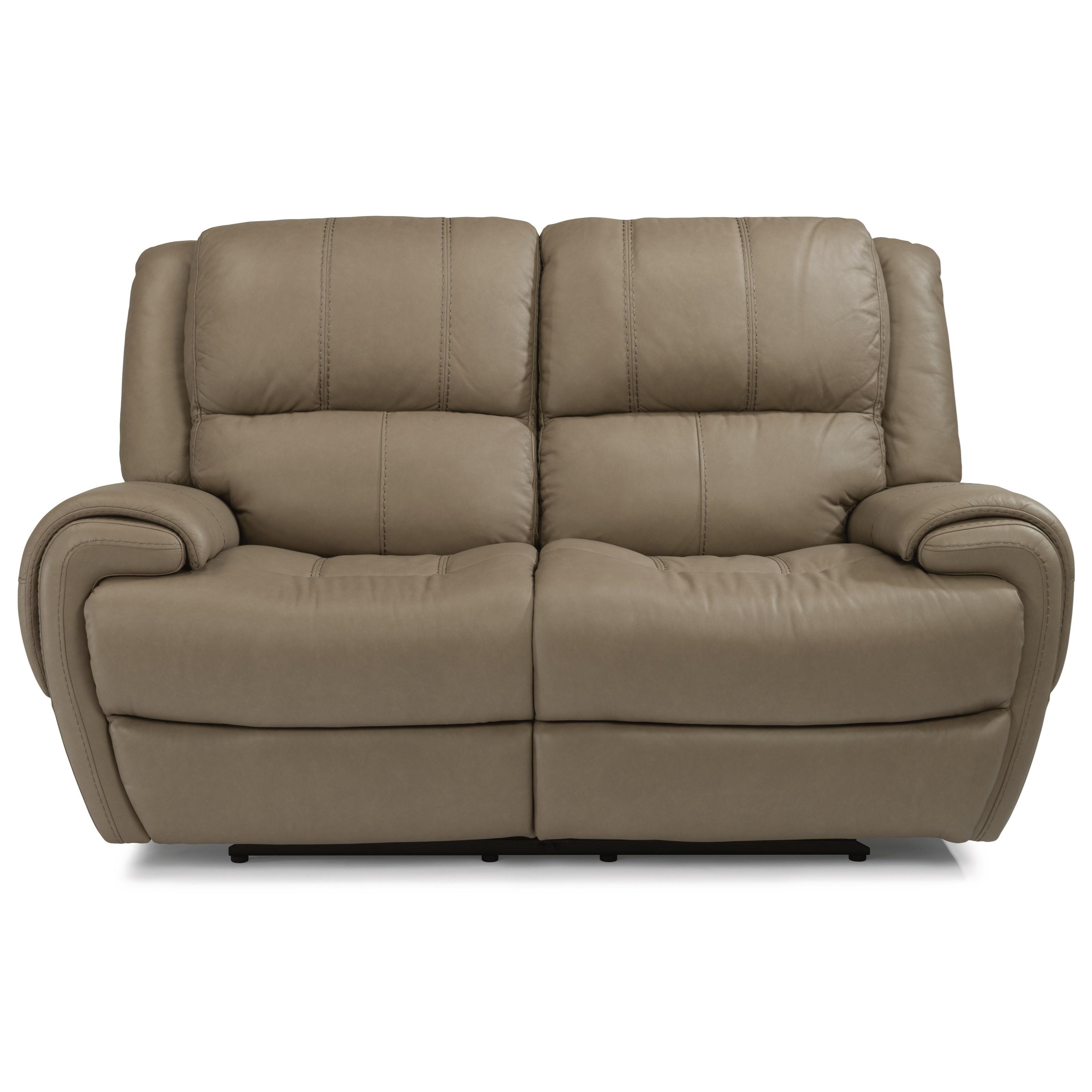 Latitudes-Nance Power Reclining Loveseat with Power Headrest by Flexsteel at Walker's Furniture