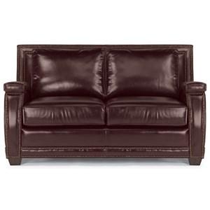 Flexsteel Latitudes-Raleigh Leather Loveseat