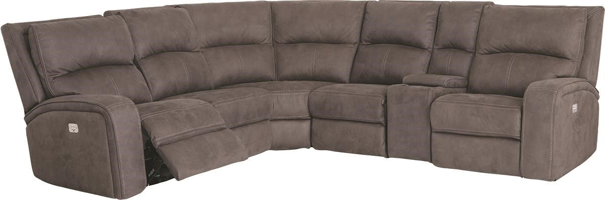 Latitudes - Nirvana 6 Piece Power Sectional by Flexsteel at Darvin Furniture