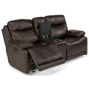 Flexsteel Latitudes-Russell Power Gliding Reclining Love Seat