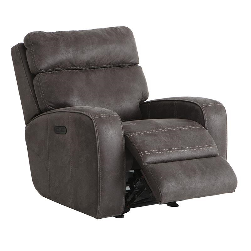 Power Gliding Recliner with Power Adjustable Headrests and USB Port