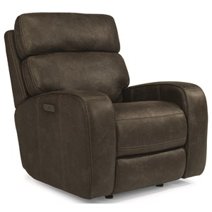 Power Recliner with Power Adjustable Headrests and USB Port