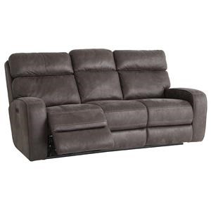 Power Reclining Sofa with USB Port and Power Adjustable Headrest