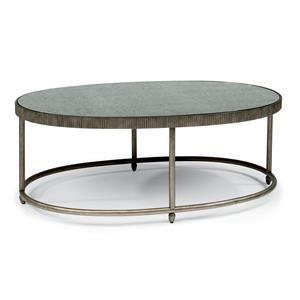 Flexsteel Legacy Oval Cocktail Table