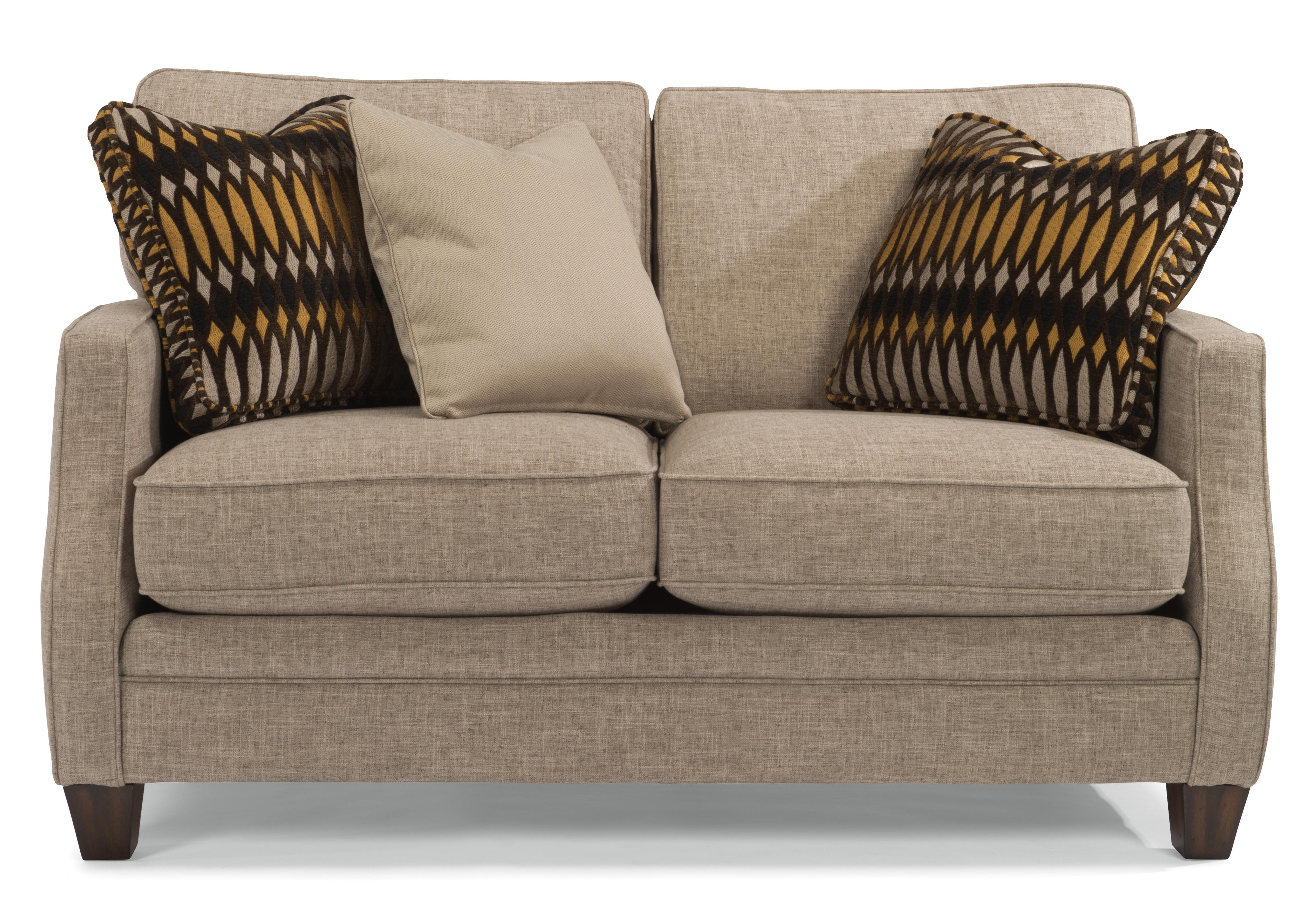 Lenox Loveseat by Flexsteel at Williams & Kay