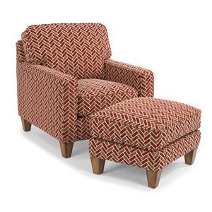 Flexsteel MacLeran Chair and Ottoman