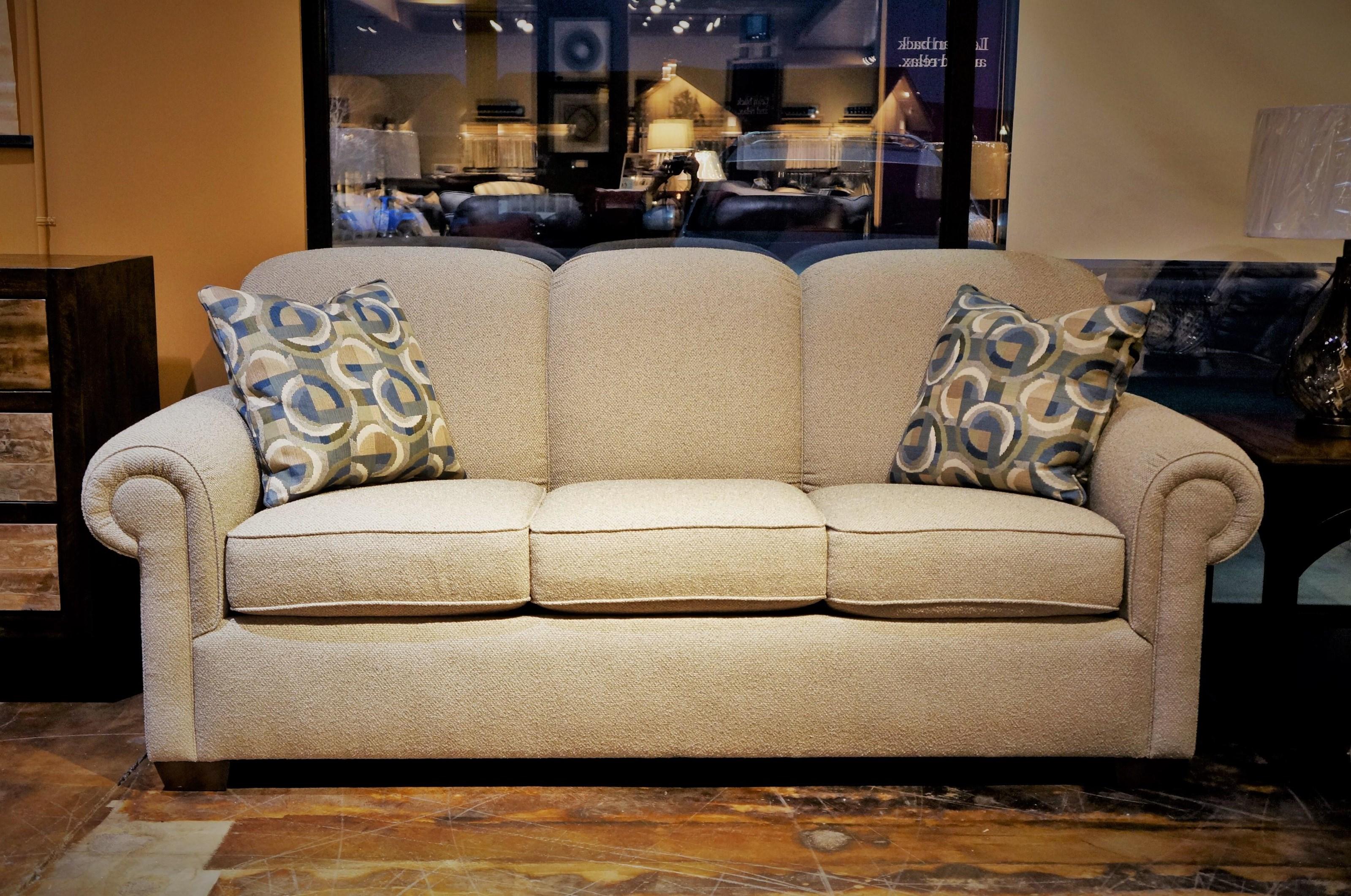 Main Street Queen Sofa Sleeper by Flexsteel at Mueller Furniture