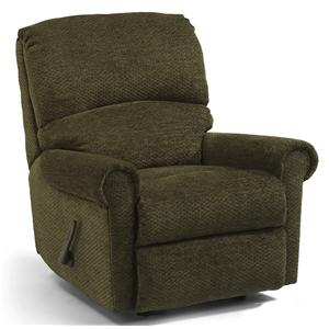 Recliner with Rolled Arms