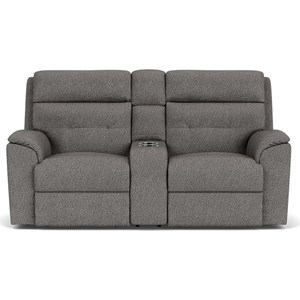 Recl. Loveseat with Console